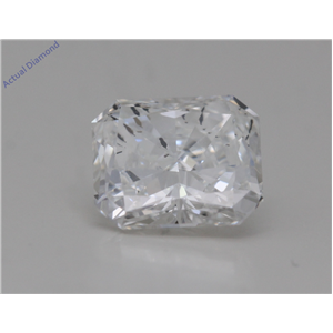 Radiant Cut Loose Diamond (1.02 Ct,G Color,SI2 Clarity) GIA Certified