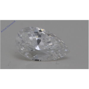 Pear Cut Loose Diamond (0.78 Ct,F Color,VS2 Clarity) GIA Certified