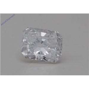 Radiant Cut Loose Diamond (0.8 Ct,E Color,SI2 Clarity) GIA Certified