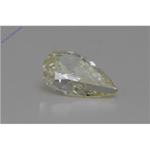 Pear Cut Loose Diamond (0.74 Ct,X-y-z Color,VS1 Clarity) GIA Certified