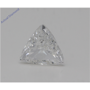 Triangle Cut Loose Diamond (0.7 Ct,G Color,VVS2 Clarity) GIA Certified