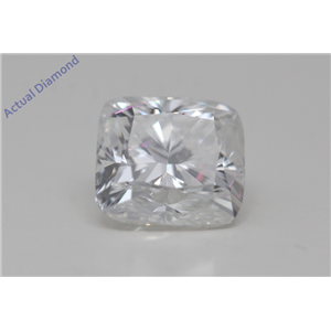Cushion Cut Loose Diamond (1.01 Ct,F Color,VS2(Clarity Enhanced) Clarity) IGL Certified
