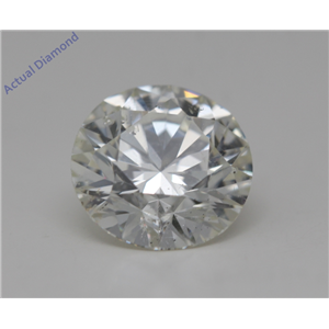 Round Cut Loose Diamond (1.6 Ct,J Color,SI1(Clarity Enhanced) Clarity) IGL Certified