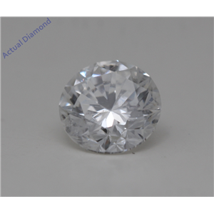 Round Cut Loose Diamond (1.06 Ct,F Color,SI2(Clarity Enhanced) Clarity) IGL Certified