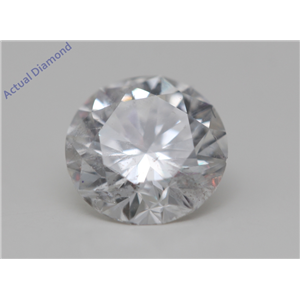 Round Cut Loose Diamond (1.02 Ct,F Color,SI2(Clarity Enhanced) Clarity) IGL Certified