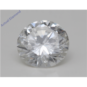 Round Cut Loose Diamond (1.01 Ct,F Color,SI1(Clarity Enhanced) Clarity) IGL Certified