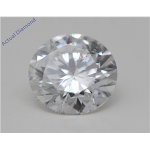 Round Cut Loose Diamond (1.01 Ct,D Color,SI1(Clarity Enhanced) Clarity) IGL Certified