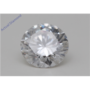 Round Cut Loose Diamond (1 Ct,F Color,SI1(Clarity Enhanced) Clarity) IGL Certified