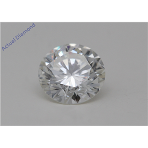 Round Cut Loose Diamond (0.56 Ct,I Color,SI1(Clarity Enhanced) Clarity)