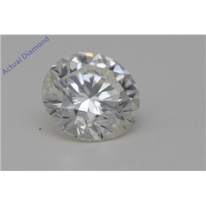 Round Cut Loose Diamond (0.55 Ct,J Color,SI2(Clarity Enhanced) Clarity)