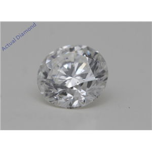 Round Cut Loose Diamond (0.52 Ct,G Color,SI2(Clarity Enhanced) Clarity)