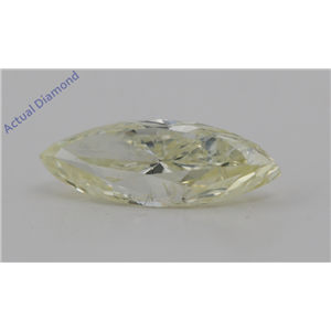 Marquise Cut Loose Diamond (1.96 Ct,Natural Fancy Light Yellow Color,SI2 Clarity) GIA Certified