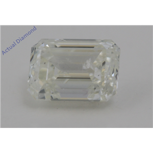 Emerald Cut Loose Diamond (1.1 Ct,I Color,SI2 Clarity) AIG Certified