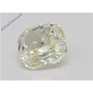 Cushion Cut Loose Diamond (1.05 Ct,Natural Fancy Yellow Color,VVS1 Clarity) AIG Certified