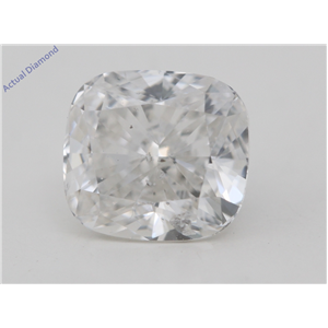 Cushion Cut Loose Diamond (1.02 Ct,I Color,SI2 Clarity) IGI Certified