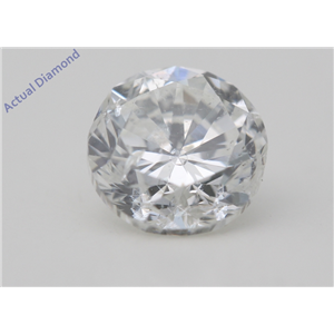 Round Cut Loose Diamond (1 Ct,F Color,SI1 Clarity) AIG Certified
