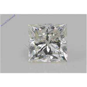 Princess Cut Loose Diamond (0.9 Ct,I Color,VVS1 Clarity) AIG Certified
