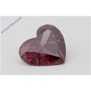 Heart Loose Diamond (2.16 Ct Fancy Brownish Orangy Pink(Irradiated HPHT Treated) VS2 Clarity) GIA