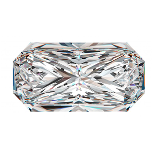 Radiant Cut Loose Diamond (0.71 Ct, G, I1(Clarity Enhanced))