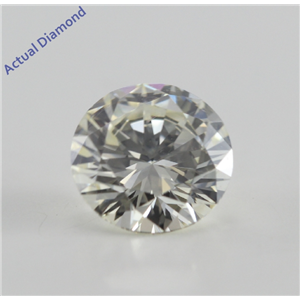 Round Cut Loose Diamond (1.05 Ct, I, VS1(Clarity Enhanced)) IGL Certified