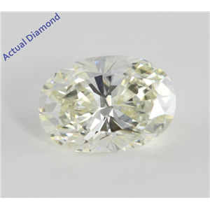 Oval Cut Loose Diamond (1.09 Ct, K Color, SI1 (Clarity Enhanced) Clarity)