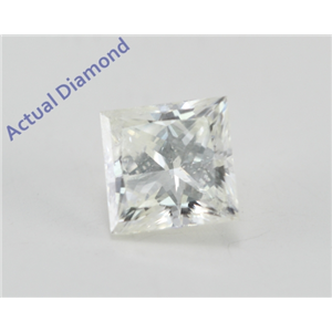 Princess Cut Loose Diamond (0.79 Ct, I Color, I1(Clarity Enhanced) Clarity)