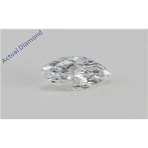 Marquise Cut Loose Diamond (0.28 Ct, D Color, SI2 (K.M. Treated) Clarity) IGL Certified