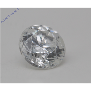 Round Cut Loose Diamond (2.02 Ct, F Color, SI3(K.M) Clarity) IGL Certified