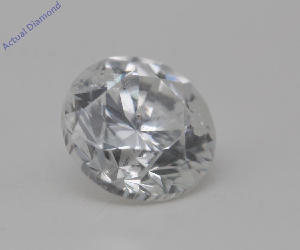 Round Cut Loose Diamond 2 02 Ct F Color Si3 K M