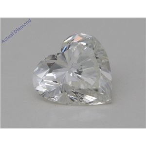 Heart Cut Loose Diamond (1 Ct,J Color,SI2 Clarity) GIA Certified