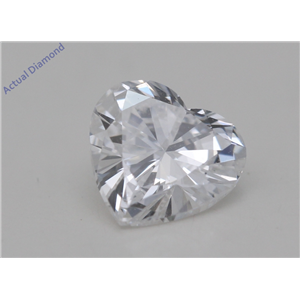 Heart Cut Loose Diamond (1.01 Ct,D Color,SI1 Clarity) GIA Certified