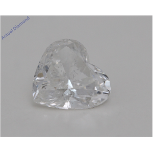 Heart Cut Loose Diamond (1.1 Ct,H Color,SI2 Clarity) GIA Certified