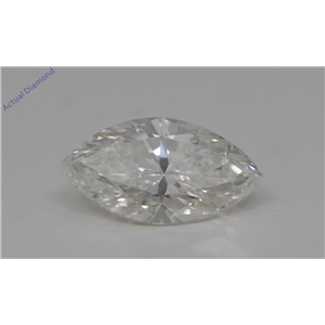 Marquise Cut Loose Diamond (1.01 Ct,J Color,SI2 Clarity) GIA Certified