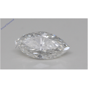 Marquise Cut Loose Diamond (1.1 Ct,G Color,VVS2 Clarity) GIA Certified