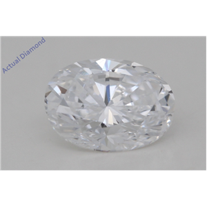 Oval Cut Loose Diamond (1 Ct,D Color,VS1 Clarity) GIA Certified