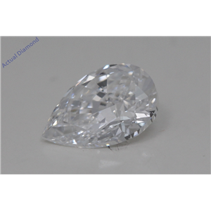 Pear Cut Loose Diamond (1.01 Ct,D Color,SI1 Clarity) GIA Certified