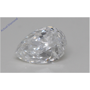 Pear Cut Loose Diamond (1.03 Ct,F Color,SI1 Clarity) GIA Certified
