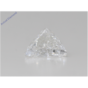 Triangle Cut Loose Diamond (1 Ct,F Color,Si2 Clarity) Gia Certified