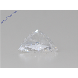 Triangle Cut Loose Diamond (0.73 Ct,D Color,Vs2 Clarity) Gia Certified