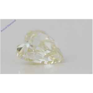 Heart Cut Loose Diamond (1.01 Ct,Natural Fancy Yellow Color,Vs2 Clarity) Gia Certified