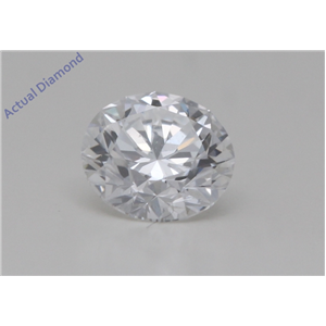 Round Cut Loose Diamond (0.41 Ct,D Color,VVS2 Clarity) GIA Certified