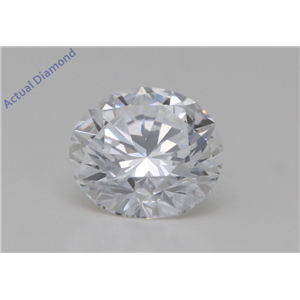 Round Cut Loose Diamond (0.5 Ct,D Color,VVS1 Clarity) GIA Certified