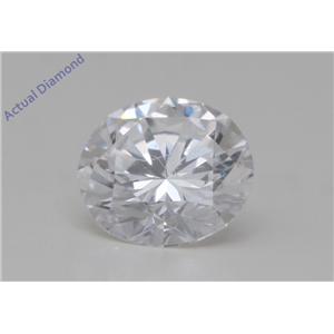 Round Cut Loose Diamond (0.5 Ct,D Color,VVS2 Clarity) GIA Certified
