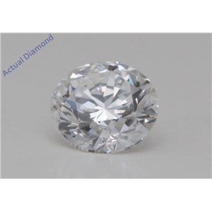 Round Cut Loose Diamond (0.51 Ct,F Color,VVS1 Clarity) GIA Certified