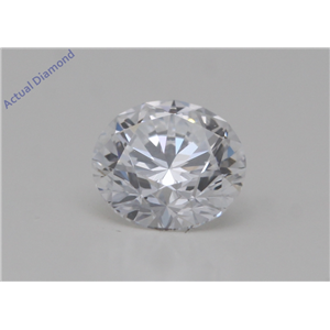 Round Cut Loose Diamond (0.55 Ct,D Color,VVS2 Clarity) GIA Certified
