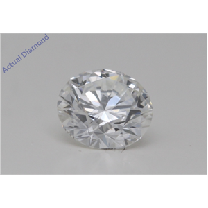 Round Cut Loose Diamond (0.55 Ct,H Color,VVS2 Clarity) GIA Certified