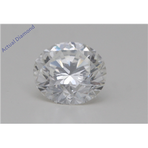 Round Cut Loose Diamond (0.56 Ct,H Color,IF Clarity) GIA Certified