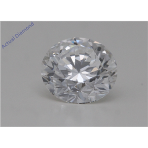 Round Cut Loose Diamond (0.72 Ct,F Color,IF Clarity) GIA Certified