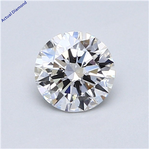 Round Cut Loose Diamond (0.7 Ct,E Color,Vs2 Clarity) Gia Certified