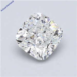 Cushion Cut Loose Diamond (1.01 Ct,F Color,Si1 Clarity) Gia Certified